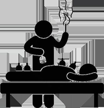 Stawianie baniek ogniowych i bez ogniowych. Metody masażu bańką chińską
